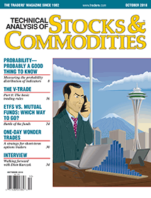Stocks & Commodities Magazine cover